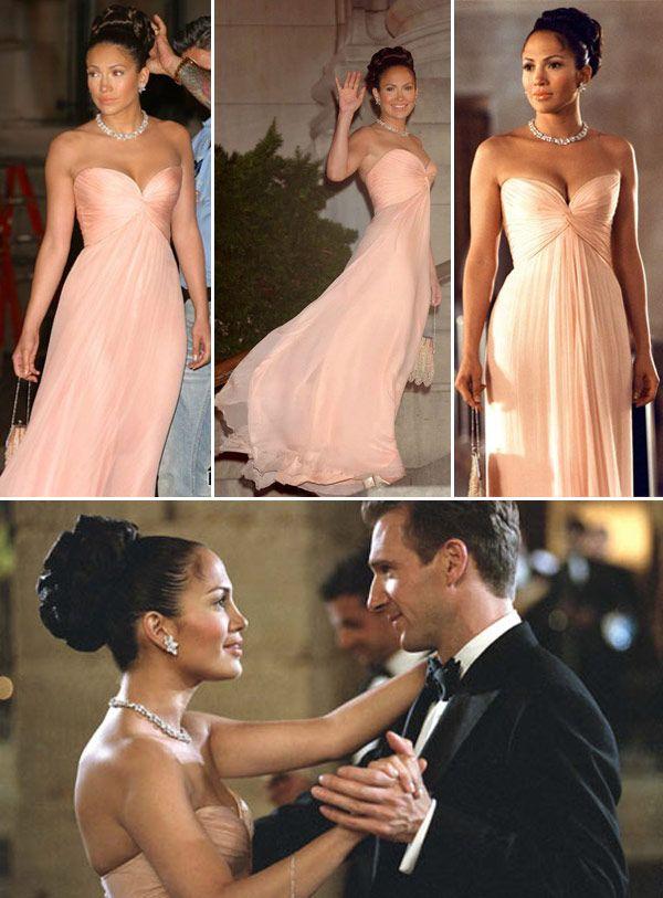 Vestido rosa, de Jennifer Lopez, em 'Encontro de Amor'                                                                                                                                                                                 More