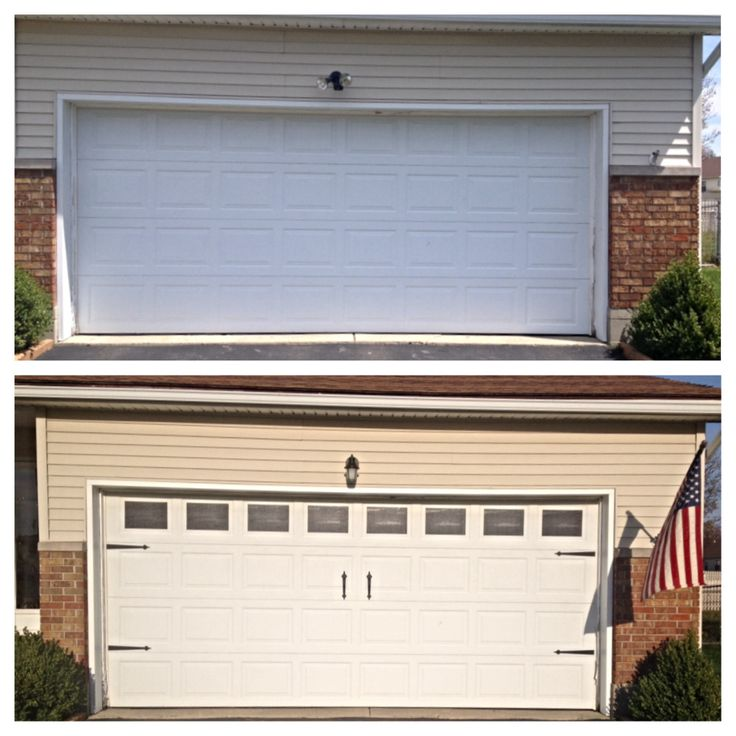 12 best garage doors images on pinterest carriage doors for Faux carriage garage door