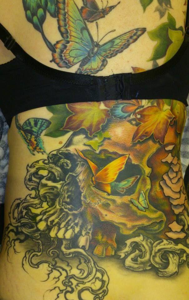 Session 8. Work done at Korpus Tattoo.