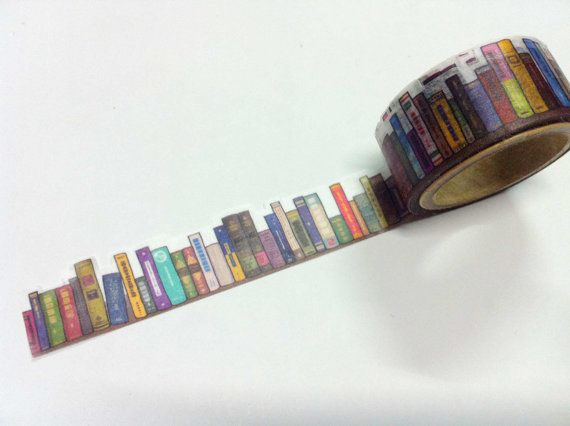 Book Tape: As much as I hate to admit it, the holiday season is upon us. Make a statement with your holiday packages – not just the wrapping – by sealing them up tight with this bookish tape.