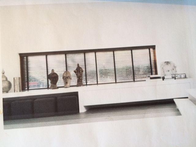 Opberg/zitmeubel en dressoir in 1