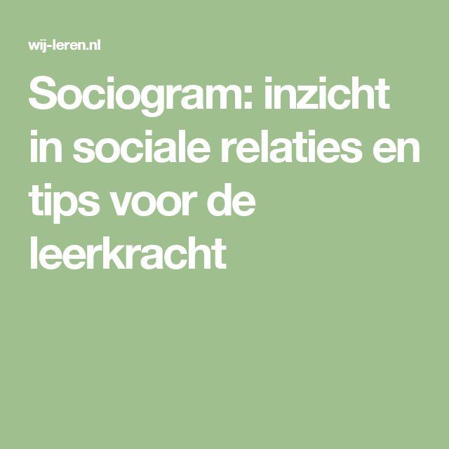 Sociogram: inzicht in sociale relaties en tips voor de leerkracht