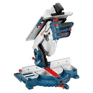 Bosch GTM12JL Sliding Compound Table Mitre Saw Combination 240v - Mitre Saw and Table Saw in one!