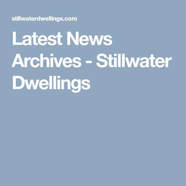 Latest News Archives - Stillwater Dwellings