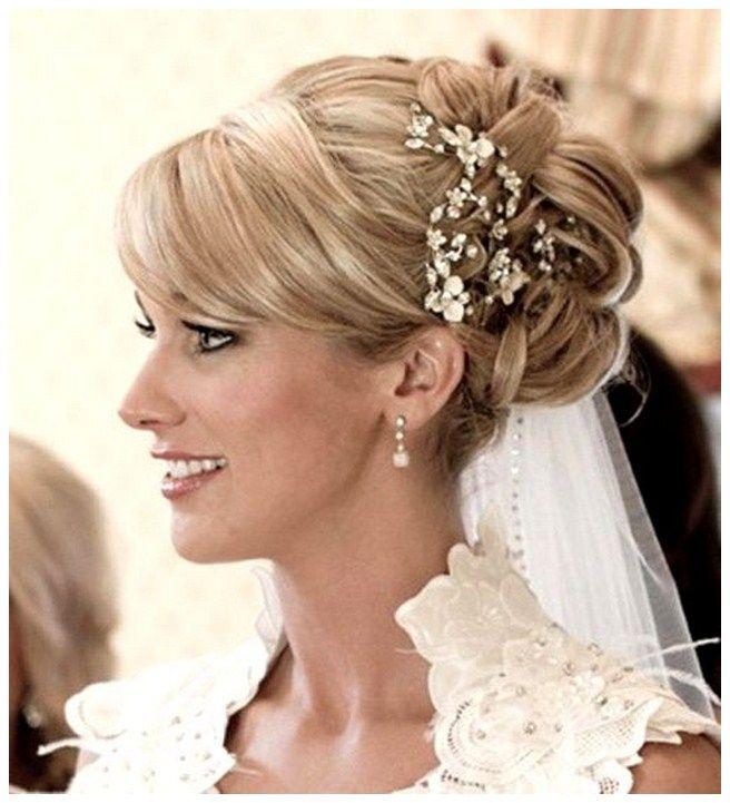 Wedding Hairstyles Long Hair Half Up Veil Half Up Half