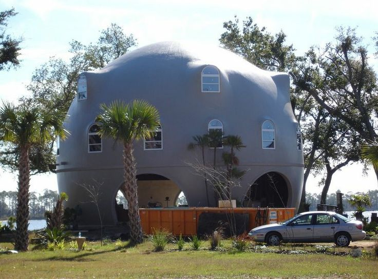 12 best images about honeycomb concrete shells on for Concrete homes florida