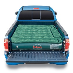 AirBedz Lite Truck Bed Air Mattress with 12 Volt Portable Pump  Write a review  Today $101.46  Item #: 14339956        This AirBedz Lite Mattress is designed to fit around and over the wheel wells of pick-up trucks creating a sleep area that utilizes the entire bed. A high grade PVC construction ensures a more puncture resistant mattress for the extreme outdoorsmen.
