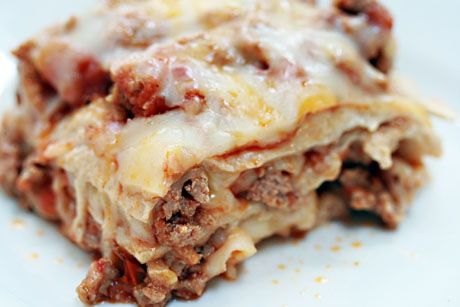 Mexican: Healthy Ground Turkey Enchilada Casserole