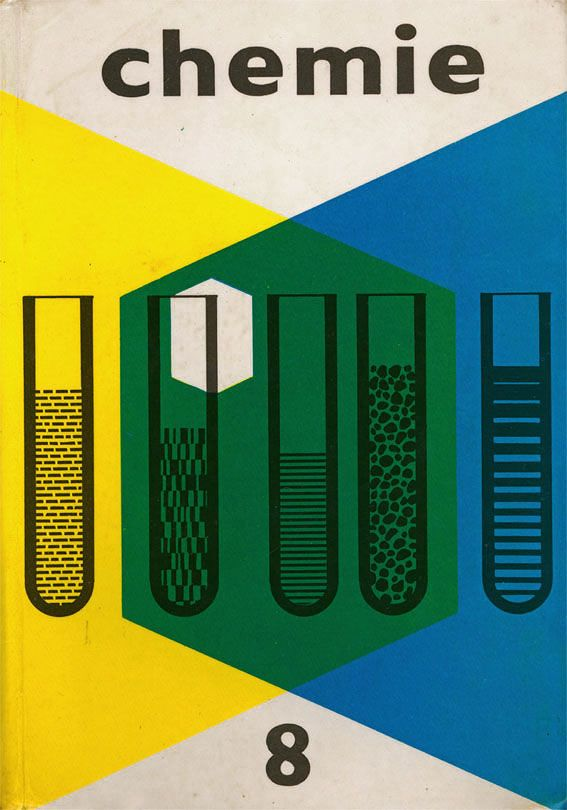 Chemistry textbook cover, Czechoslovakia