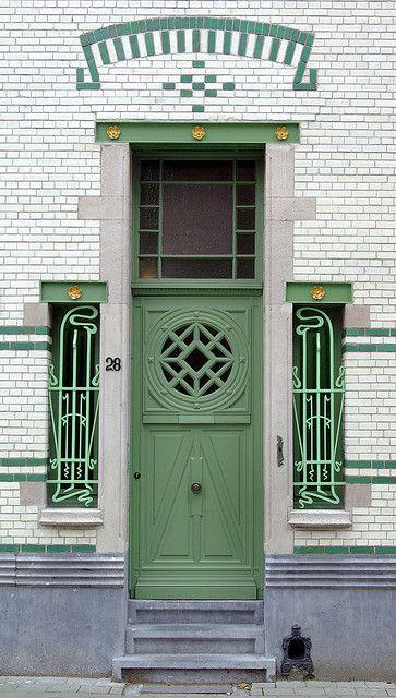 Zurenborg (Antwerp),Belgium via Flickr.