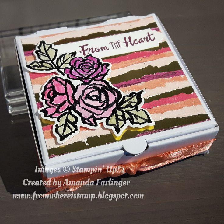 Painted with Love Designer Series paper, Petal Palette stamp set, Stampin Up