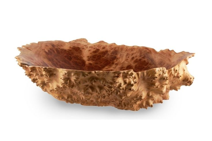 Medium Natural Edge Red Mallee Wooden Burl Bowl Online | Australian Woodwork
