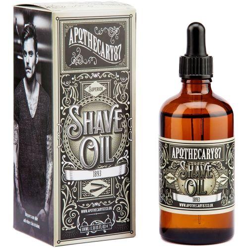 Olejek do golenia Apothecary 87 #beard #beardcare #BeardManPL