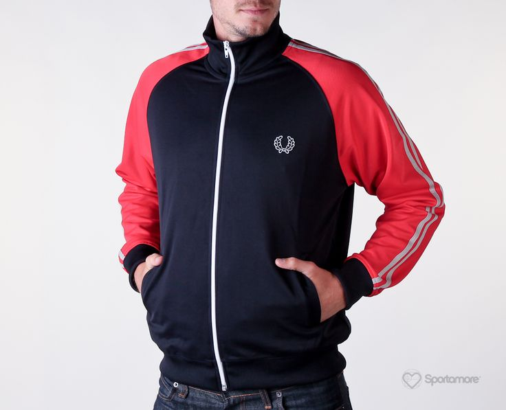 Veste fred perry homme rouge