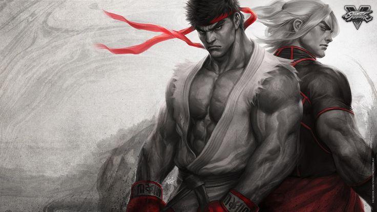 Street Fighter, Video games, Ken, Ryu,