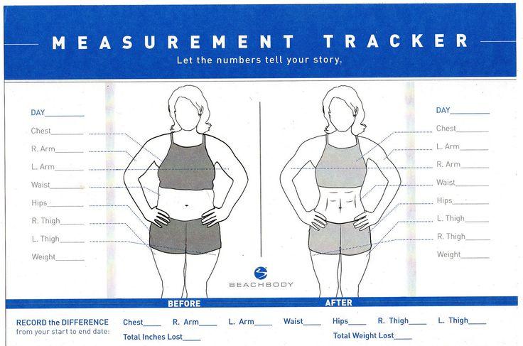 21 day fix measurements body