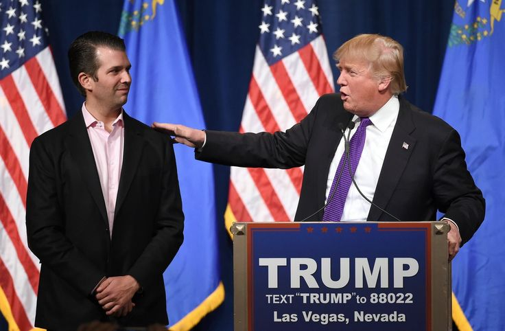 Following in his father's footsteps, Donald Trump Jr. retweeted a white supremacist.   New Republic