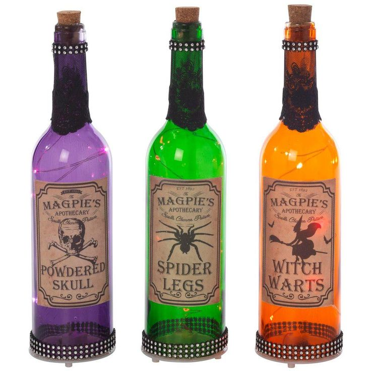221 best images about halloween crafts ideas on for Halloween medicine bottles