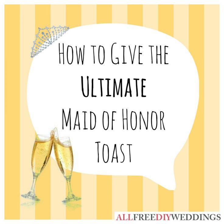 Best 20+ Maid Of Honor Speech Ideas On Pinterest