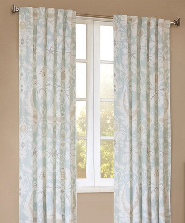 Simple This Lagoon Curtain Panel is perfect zulilyfinds Top Search - Simple Beige Curtains Simple Elegant