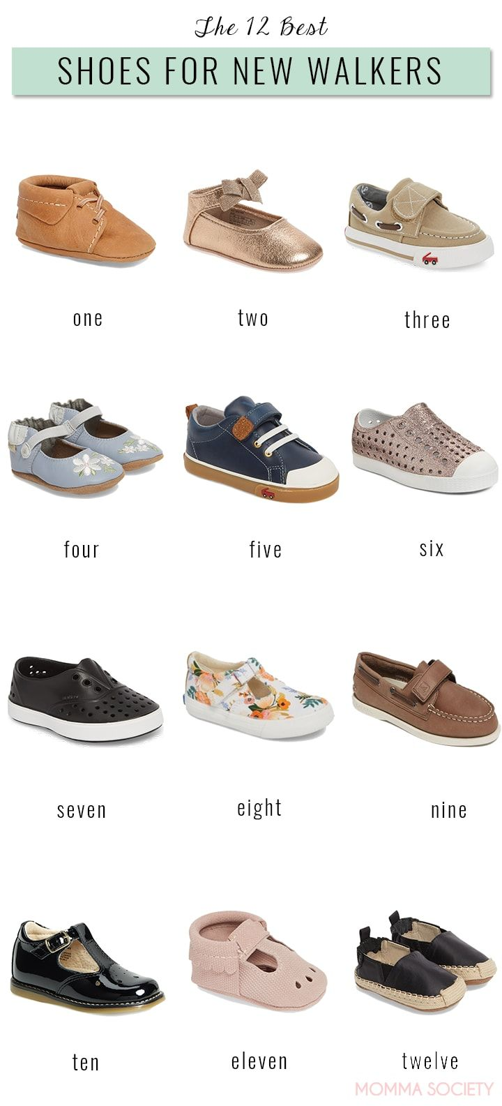 How To Pick The Perfect Shoes For Your First Time Walker