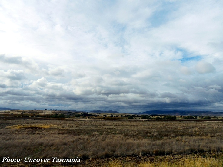 The Midlands area of Tasmania. A very different landscape.