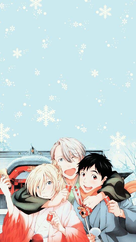 Pin By Cat Girl On Anime In 2021 Yuri On Ice Yuri On Ice Comic Yuri Plisetsky Wallpaper