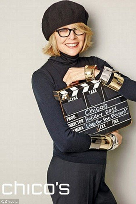 Annie Hall Style for kids | New role: Diane Keaton has posed for her first ever fashion campaign ...