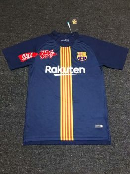 Barcelona 2018-19 Top Navy Pre Match Training Shirt  M651   5a5f3d874792b
