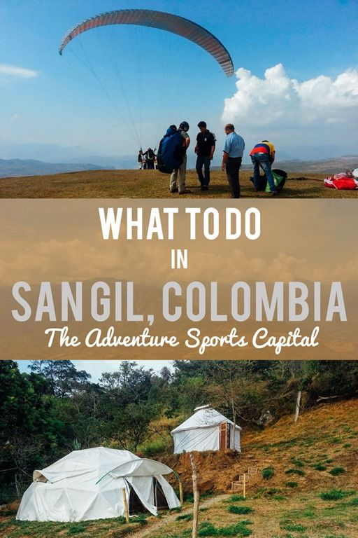 If you're looking for fun outdoor adventures, Colombia's San Gil is the place to be. White water rafting, body boarding class III rivers, paragliding, rock climbing, and more...