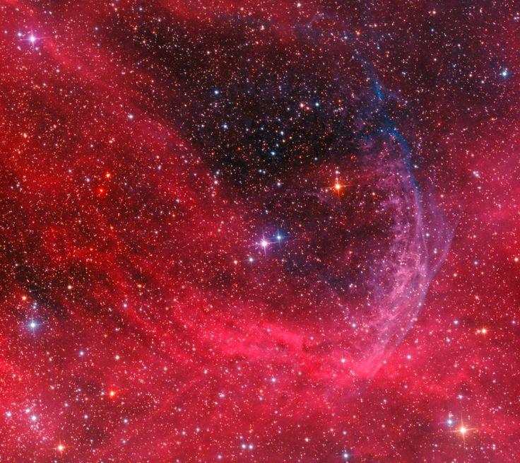 APOD: 2012 June 21 - WR 134 Ring Nebula