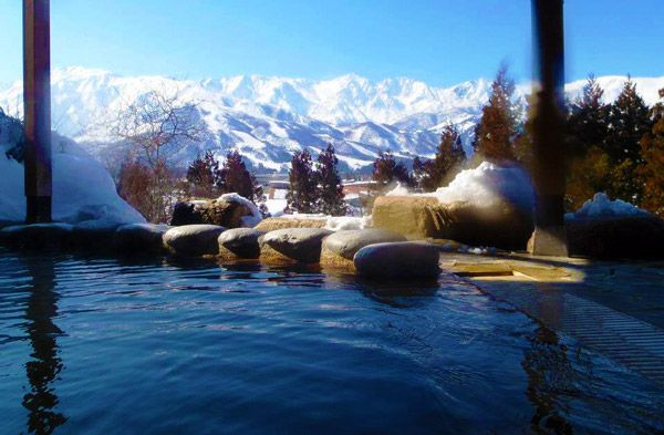 Highlands Hotel Onsen, Hakuba Japan - another Kepa recommendation