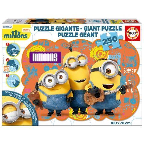 Mimoni - Dekorační puzzle maxi, 250 dílů