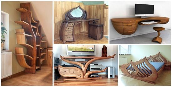 Mobila de lemn - 20 de piese unicat perfecte pentru orice casa