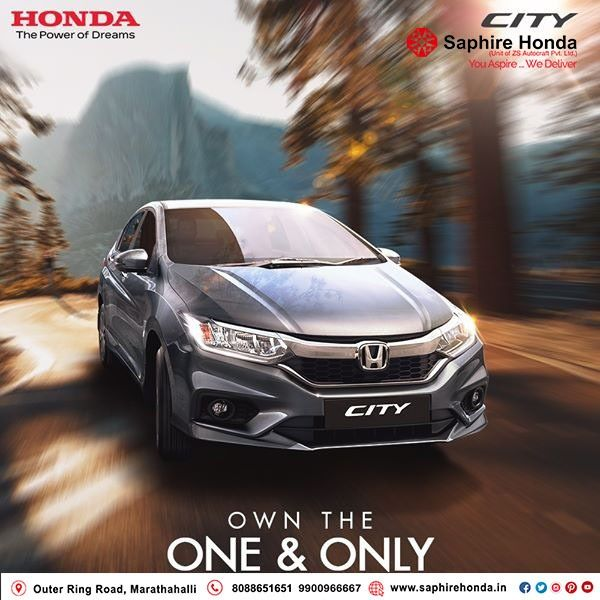A Perfect Combination Of Style And Substance Makes Honda City A Sedan That S Desired By All Follow Us Now And Come Be A Part Of The Hond In 2020 Honda City