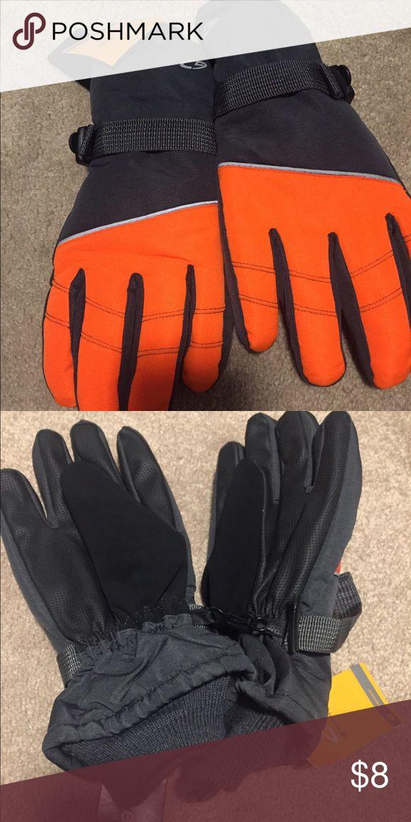 Champion Thinsulate Waterproof Orange Gloves Orange brand new boy ski gloves Champion Other