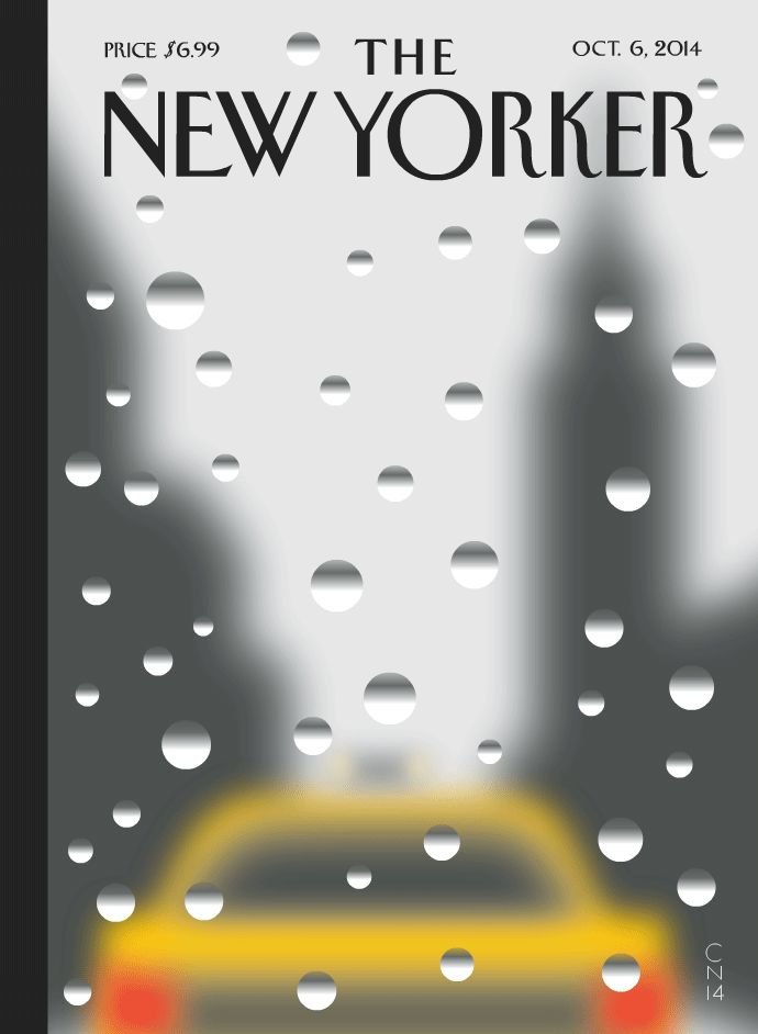 The New Yorker is experimenting with GIF covers!