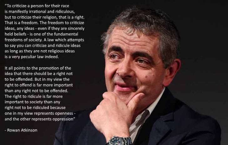 Rowan Atkinson Funny Inspirational Quotes Funny Quotes Mr Bean