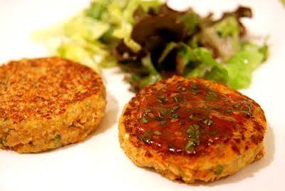 TODAS LAS RECETAS : Hamburguesitas de quinoa, arroz yamaní y zapallo