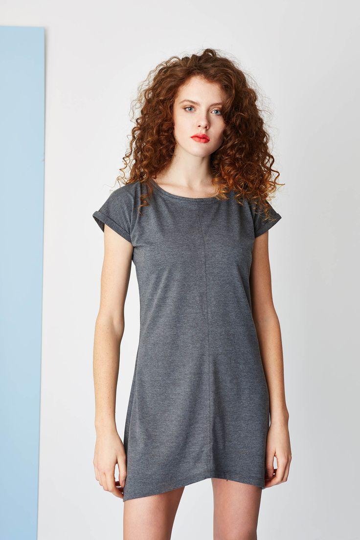Jersey basic dress. #summerdress