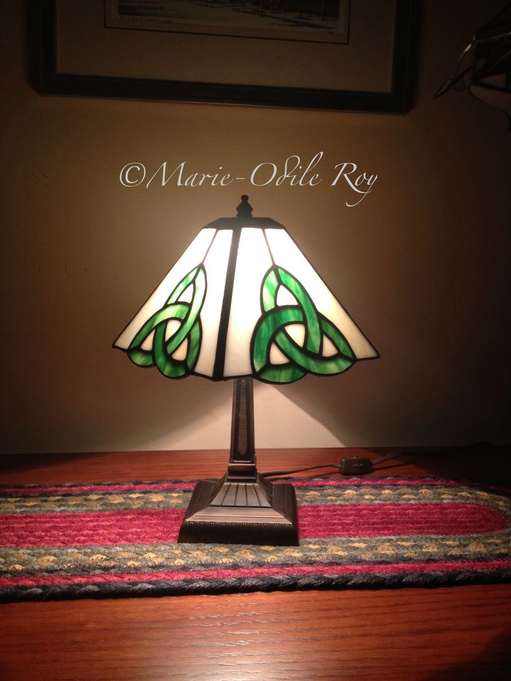 Stained Glass Marie-Odile Roy - small lamp