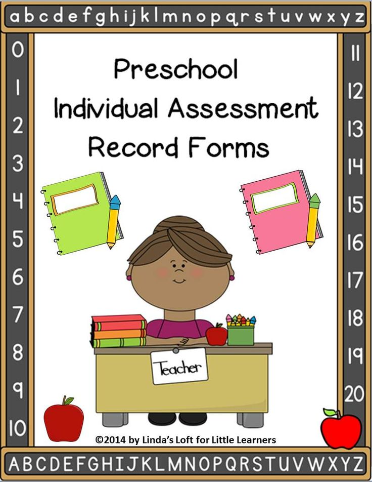 Kinder Garden: 17 Best Images About Preschool Assessments On Pinterest