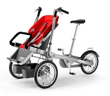 TAGA: A Bicicleta Familiar desenvolvida em Israel atrai investidores do mundo inteiro.