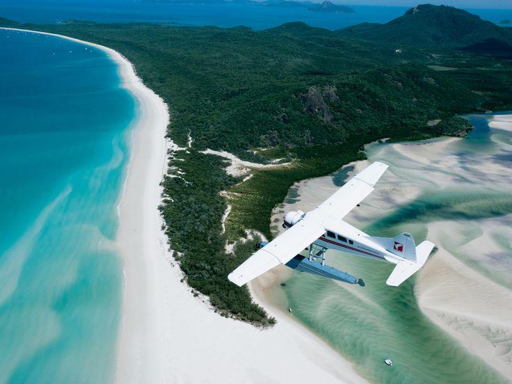 Whitehaven Beach, on Whitsunday Island in Australia, hosts a cove where the tide…