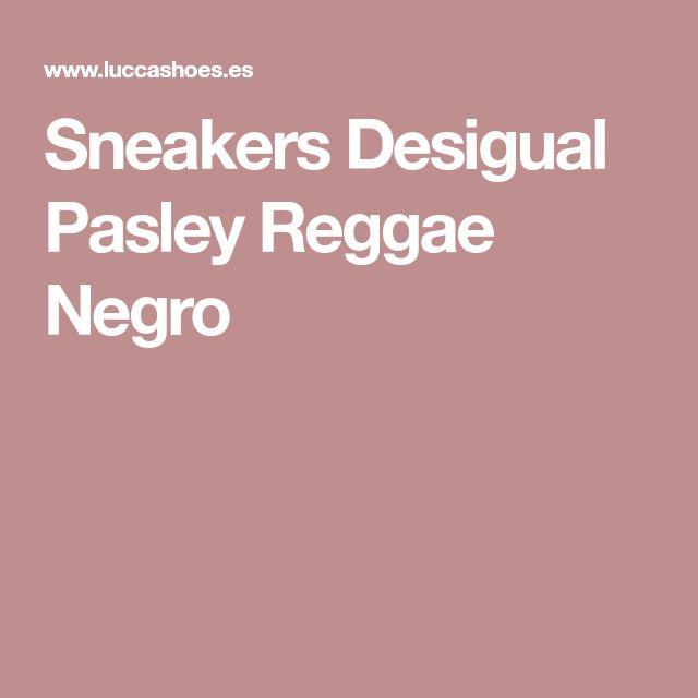 Sneakers Desigual Pasley Reggae Negro