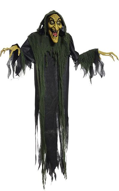 6 Creepiest Life Size Witch Props for Halloween Haunted Houses