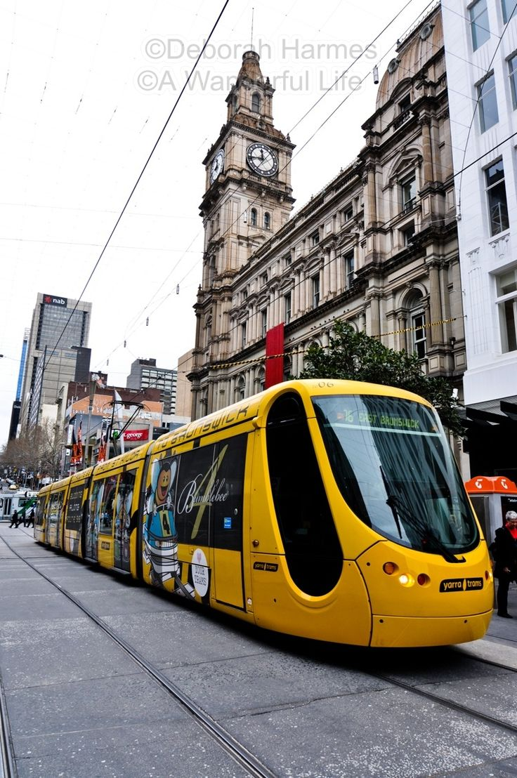 """Trams Are Terrific In Melbourne"" ©Deborah Harmes"