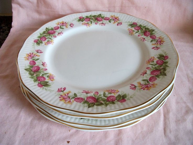 Queen s/Rosina WOMAN & HOME Dinner Plates