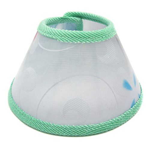 Alfie Pet by Petoga Couture  Moondy Recovery Collar with Soft Edge for Dwarf Hamster Mouse Rabbit and Guiena Pigs  Color Green Size Extra Large *** Find out more about the great product at the image link.