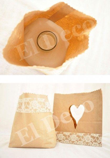Χάρτινα χειροποίητα φανάρια γάμου! #DIY paper laterns! #weddingdecoration #ElDeco